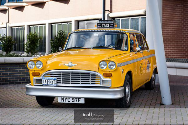 1970's New York Checker Cab