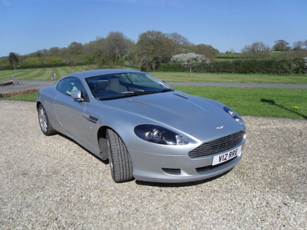 Aston Martin Db Coupe Back